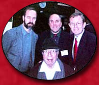 Members of the Great Books Academy with Mortimer Adler - 2000