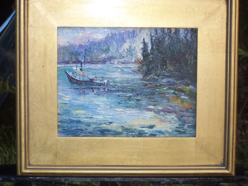 One of the paintings our Angelicum sold at the auction