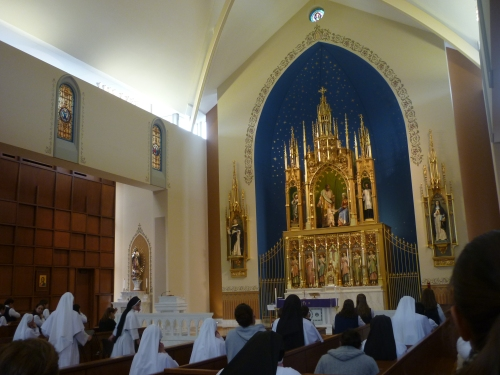 Chapel in the Convent of the Dominican Sisters of Mary